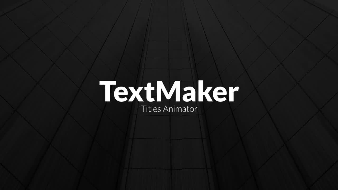Premiere数字科技标题文字展示动画模板免费下载 PR模板下载