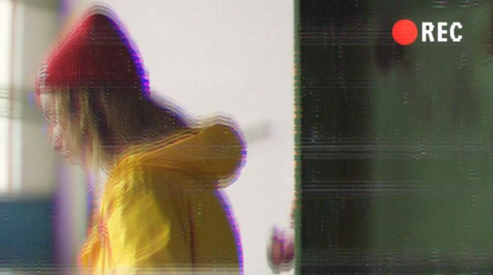 PR视频模板 5种复古效果VHS影像带录像带VCR采访视频模板下载