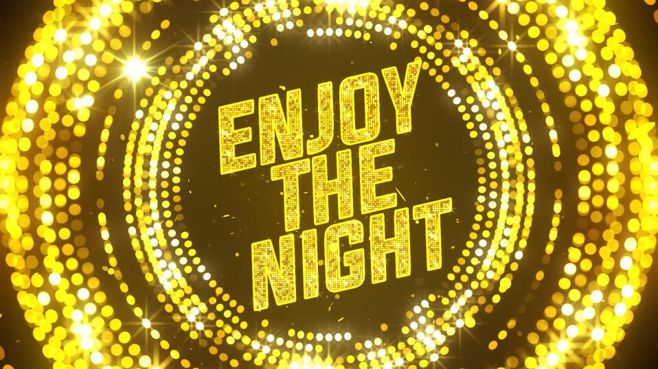 PR节日颁奖典礼模板 金色大气酒吧舞台夜总会背景模板免费下载