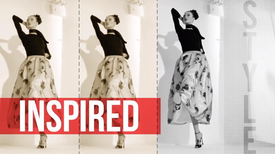 影棚拍摄花絮PR模板 时尚杂志时装秀美发视频宣传PR模板素材下载