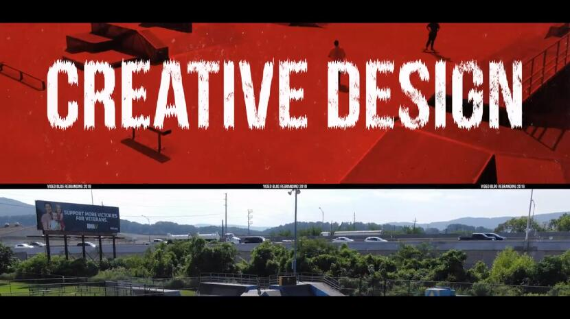 PR短视频Vlog城市风格模板 创意分屏多画面动态开场视频模板
