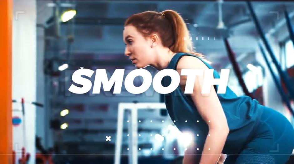 一个时尚炫酷体育运动健身房广告宣传PR视频模板